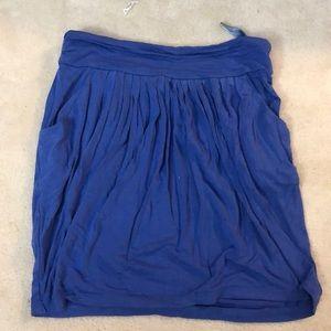 BCBG blue mini skirt